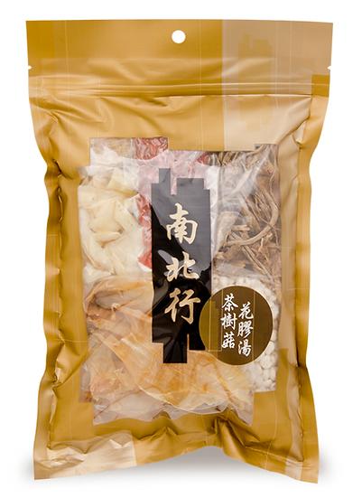 南北行 茶樹菇花膠養顏湯 128G