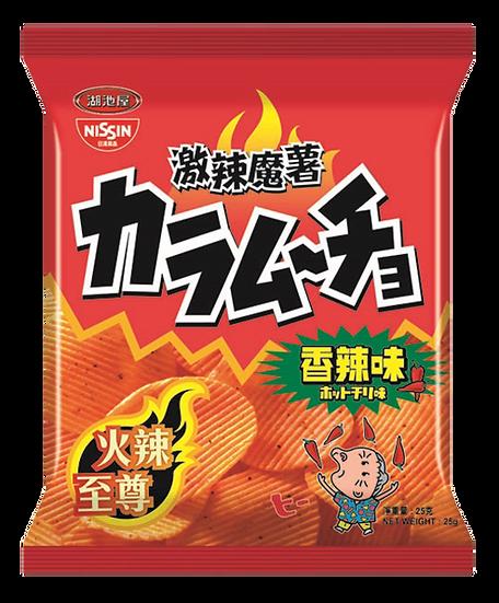 日清湖池屋 激辣魔薯香辣味薯片 55G