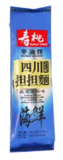 壽桃牌 四川擔擔麵 麻辣海鮮湯味