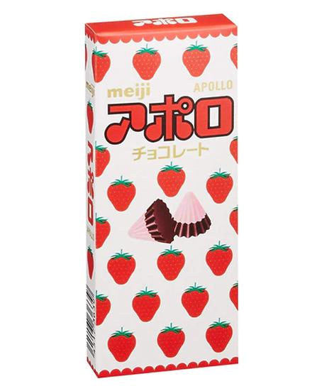 明治 阿波羅草莓朱古力 46G