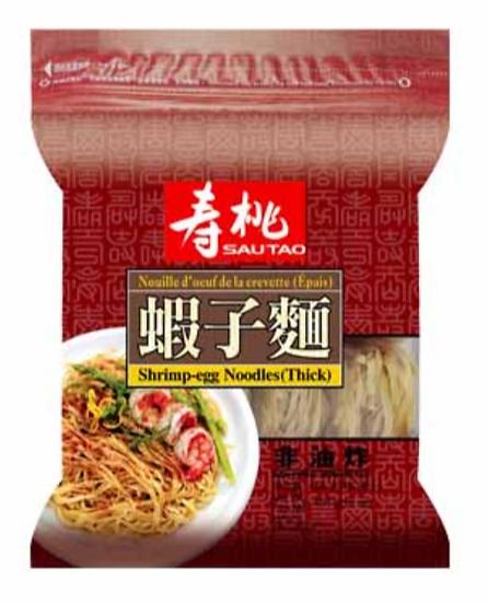 壽桃牌 袋裝蝦子麵 (粗)