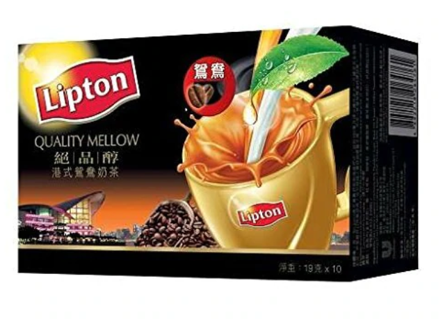 立頓 絕品醇港式鴛鴦奶茶 10包裝