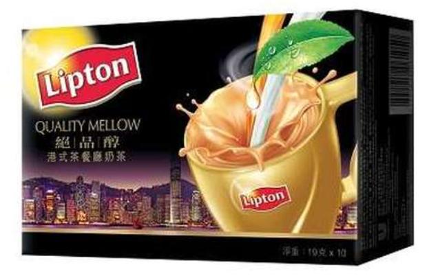 立頓 絕品醇港式茶餐廳奶茶 10包裝