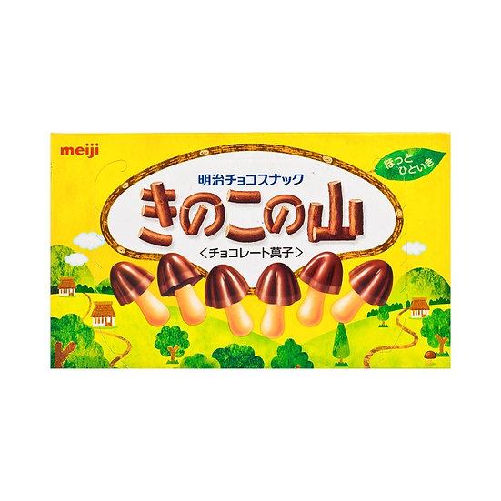 明治 草菇山朱古力餅乾 74G