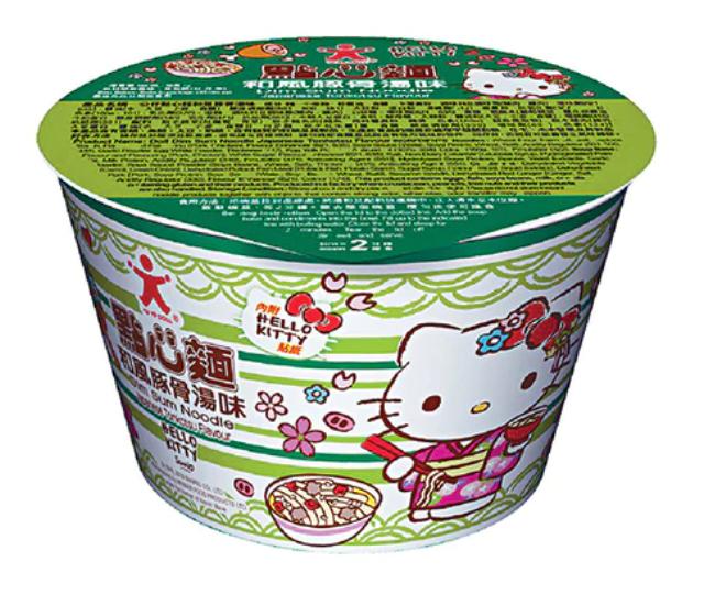公仔Hello Kitty 點心麵 和風豚骨湯味