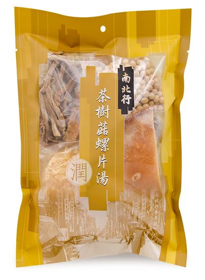 南北行 茶樹菇螺片湯 153G