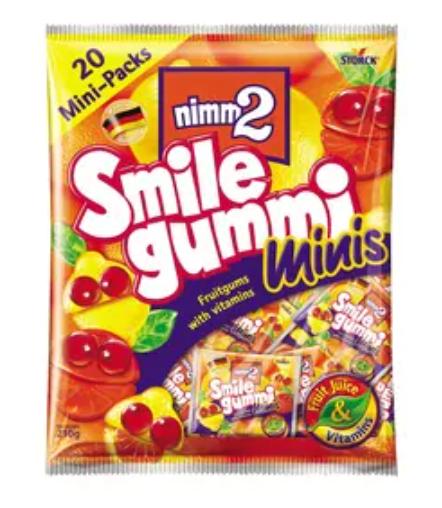 二寶 果汁橡皮糖分享裝 210G