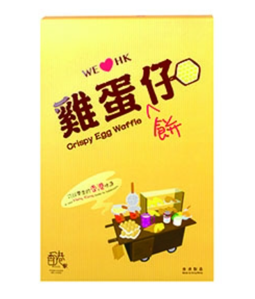 香港馬尺雞蛋餅仔 原味 5件裝