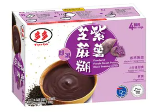 多多 即溶紫薯芝麻糊 140G