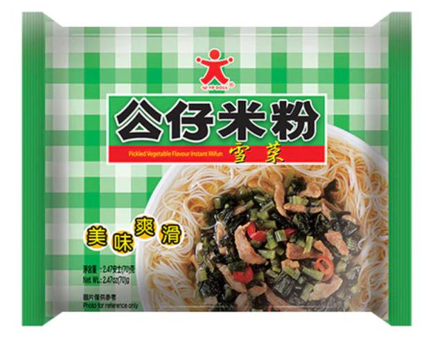 公仔米粉 雪菜肉絲味 70G