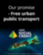 Our promise - Free urban public transpor