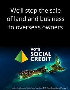 We'll stop the sale of land and business