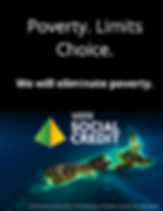 Poverty limits choice. We will eliminate