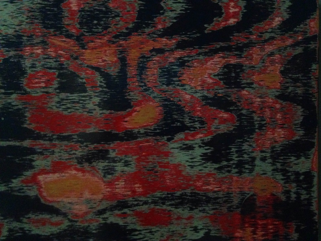 Red and Blue 18x24 by DaveAM