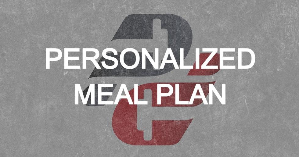 Aliza Stitsky: Personalized Meal Plan