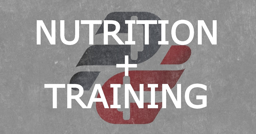 Paul Revelia: Nutrition with Training (Monthly Auto-Pay)