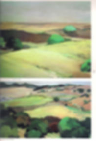 pintora, artista, paisajista, arte contemporáneo