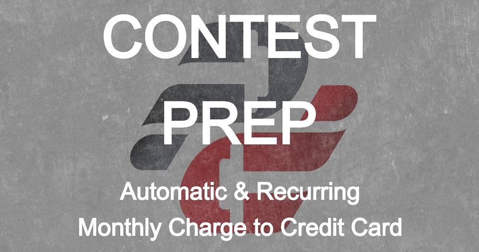 Dani Krshka: Contest Prep (Monthly Auto-Pay)