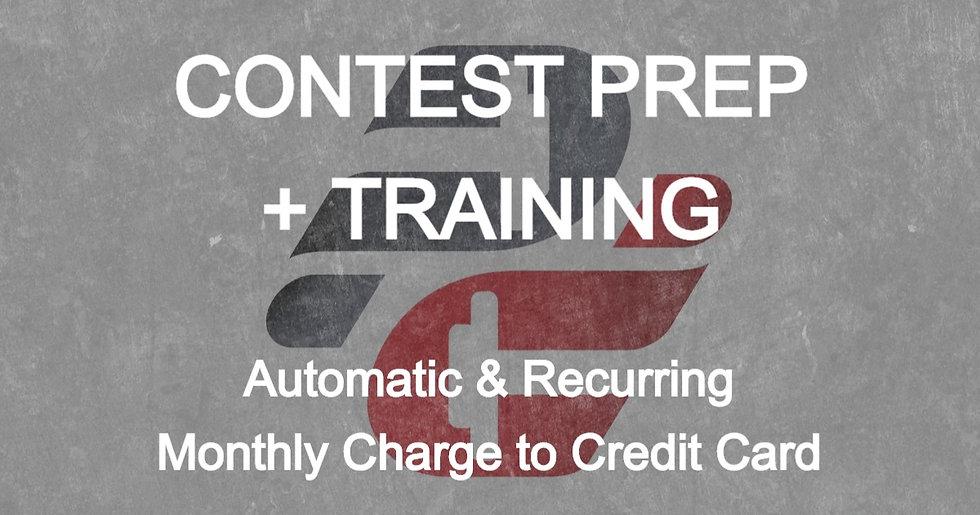 Jojo Kartheiser: Contest Prep with Training (Monthly Auto-Pay)