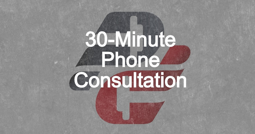 Stephen Beaugrand: 30-Minute Phone Consult