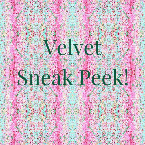 Fall 2019 Velvet Sneak Peek Pink Multi