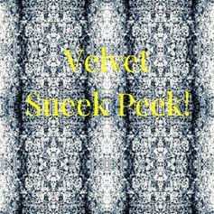 Fall 2019 Velvet Sneak Peek Black White