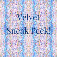 Fall 2019 Velvet Sneak Peek Blue Orange