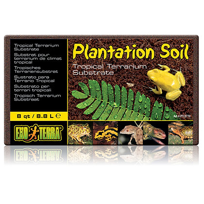 PLANTATION SOIL SUSTRATO PARA TERRARIO TROPICAL