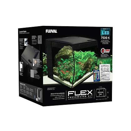 ACUARIO KIT FLUVAL FLEX LED 7500