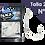 Thumbnail: BLACK MINNOW HOOK KROG PREMIUM VMC