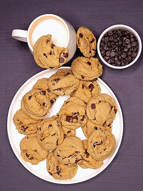 Can't believe It's Vegan Chocolate Chip Cookie