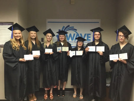 WAVE'S FIRST COMMENCEMENT CEREMONY- 2019