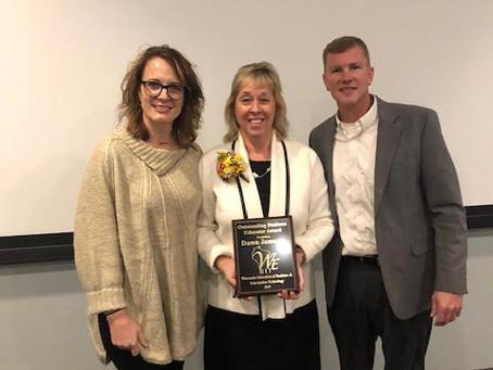 Dawn Jameson: WEBIT 2019 Outstanding Educator Award