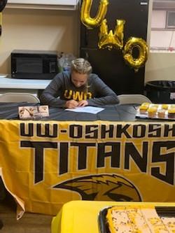 Anna UW-O Signing 2
