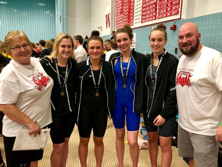 WAVE Student Swims at State Meet