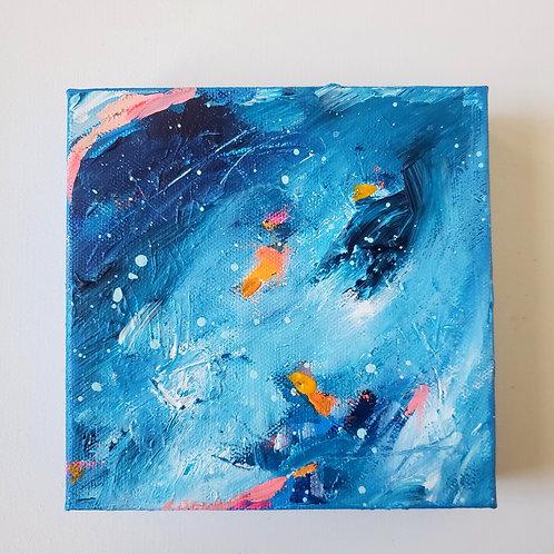 Pulse: 10 - 6x6 (Original Painting)