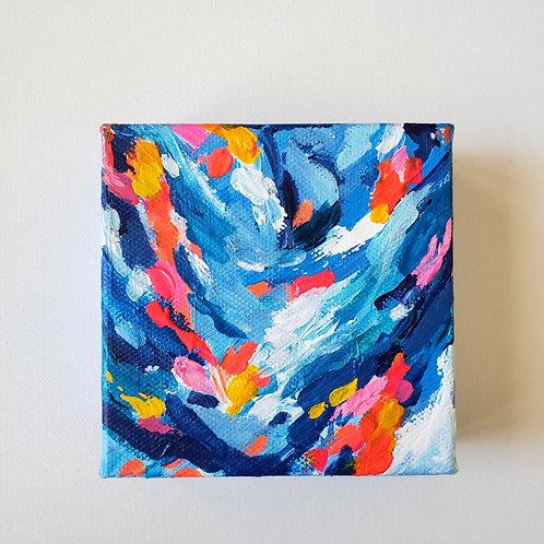 Pulse: 5 - 4x4 (Original Painting)