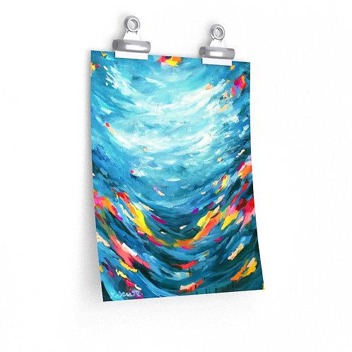Shifting  Flow - Paper Print