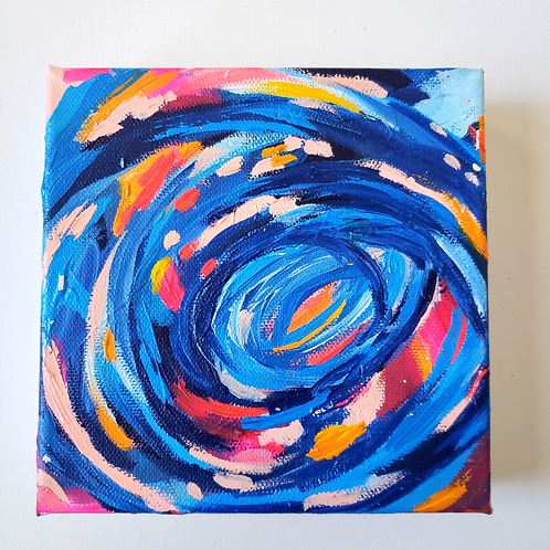 Pulse: 11 - 6x6 (Original Painting)
