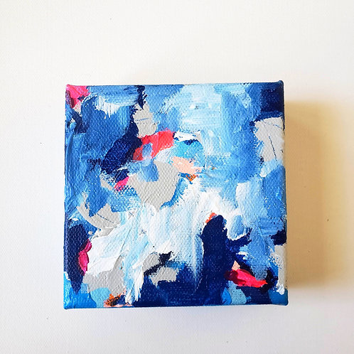 Pulse: 3 - 4x4 (Original Painting)
