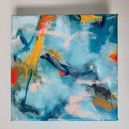 Bluebell:3 - 6x6 (Original Painting)