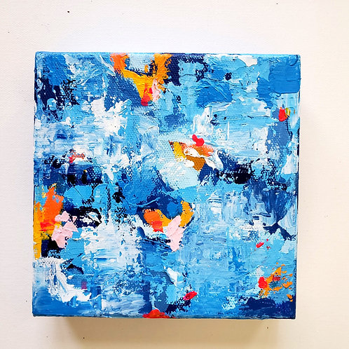 Pulse: 13 - 6x6 (Original Painting)