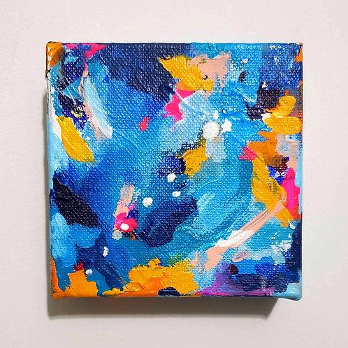 Pulse: 7 - 4x4 (Original Painting)
