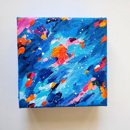 Pulse: 2 - 4x4 (Original Painting)
