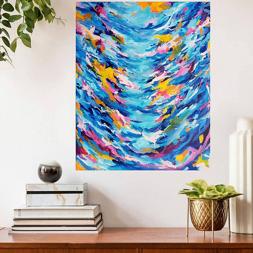 Dream to Bloom - 30×24