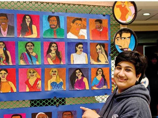 This differently abled young artist is a creative powerhouse