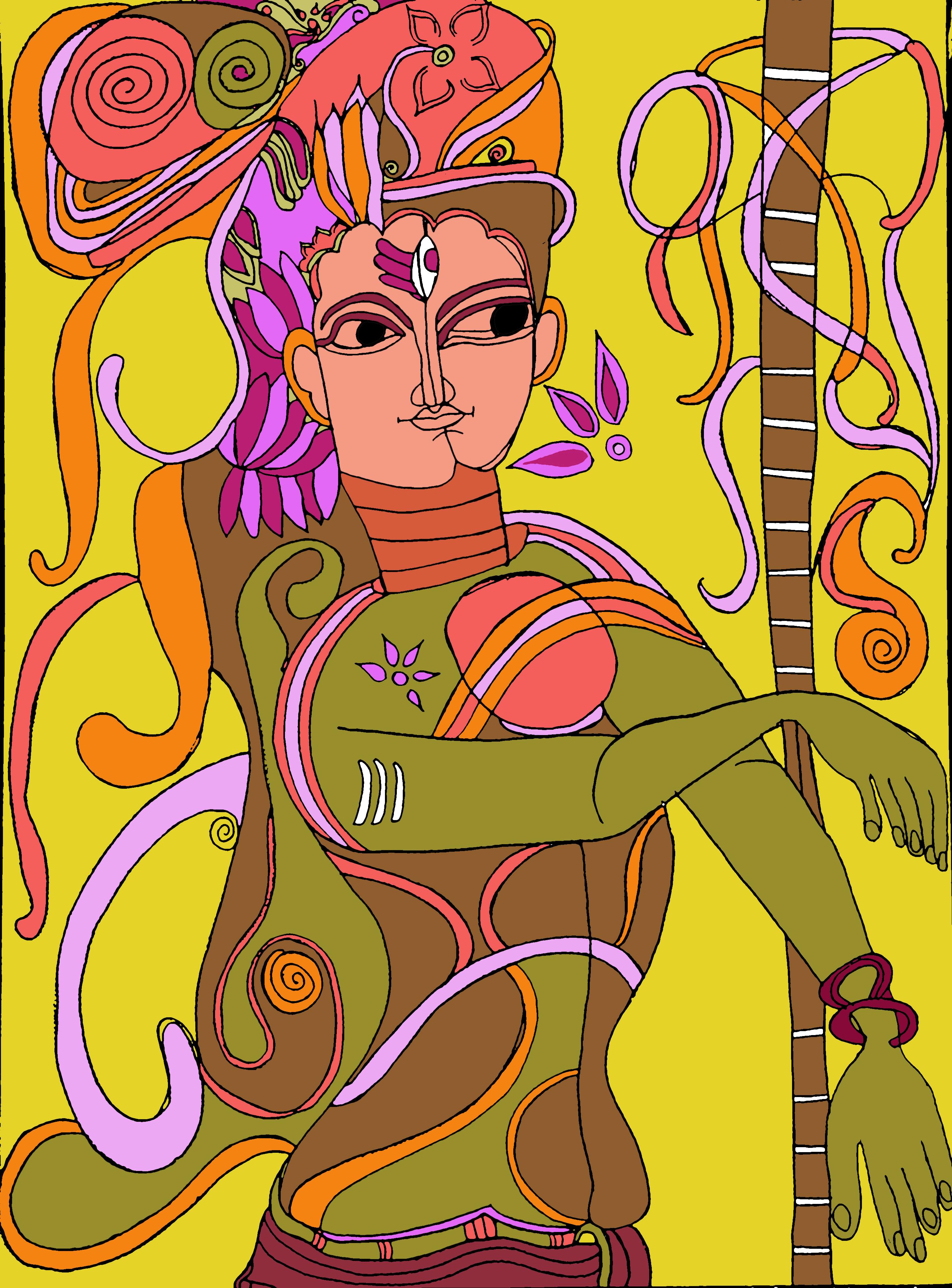 Ardhnareeshwar -The Shiva
