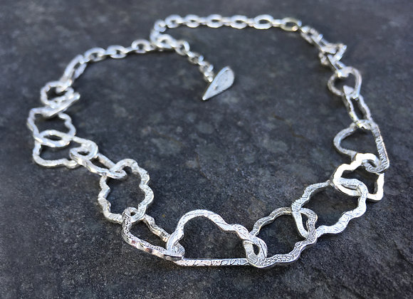 Silver Linings Cloud Necklace
