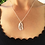 Thumbnail: Silver Lobster Claw Necklace