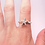 Thumbnail: Silver Starfish Ring
